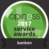 Opiness beste service award
